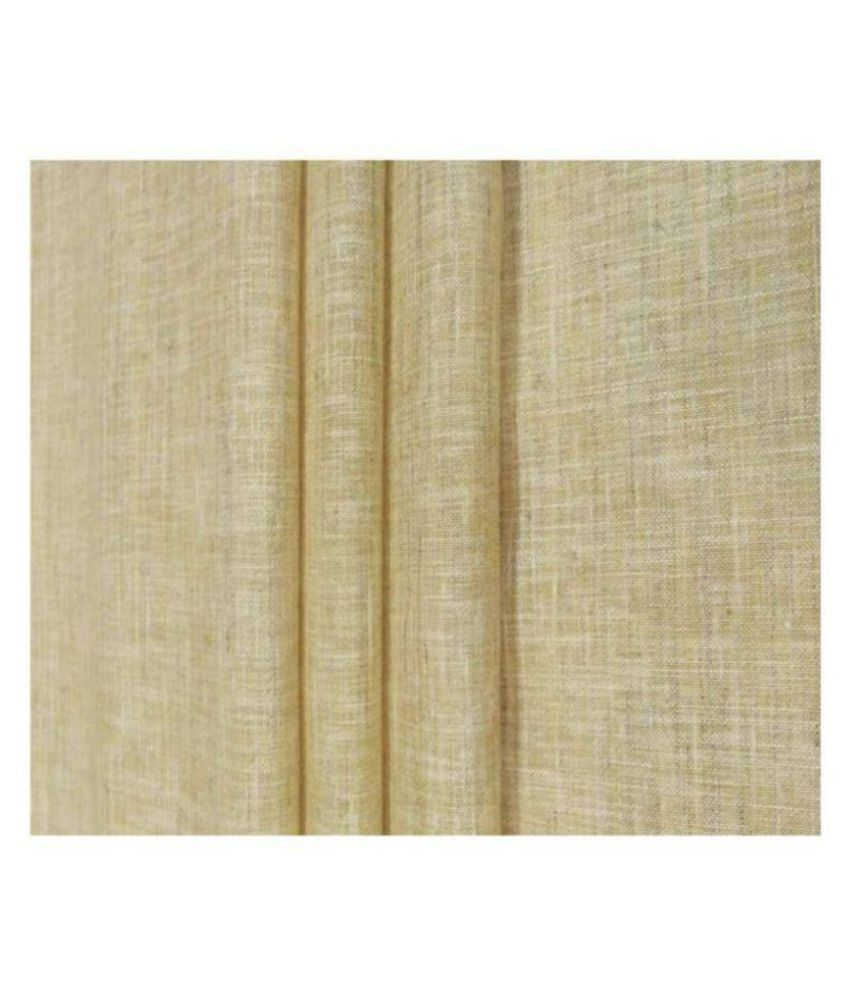 NS Fabric Beige Linen Unstitched Shirt pc