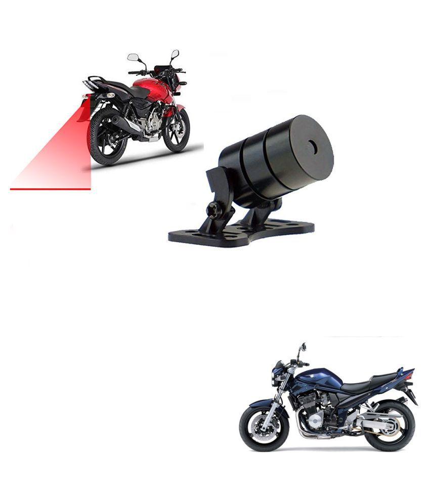 Auto Addict Bike Styling Led Laser Safety Warning Lights Fog Lamp,Brake Lamp,Running Tail Light-12V For Suzuki Bandite