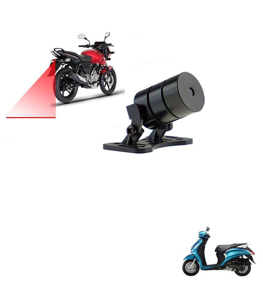 Auto Addict Scooty Styling Led Laser Safety Warning Lights Fog Lamp,Brake Lamp,Running Tail Light-12V For Yamaha Facino