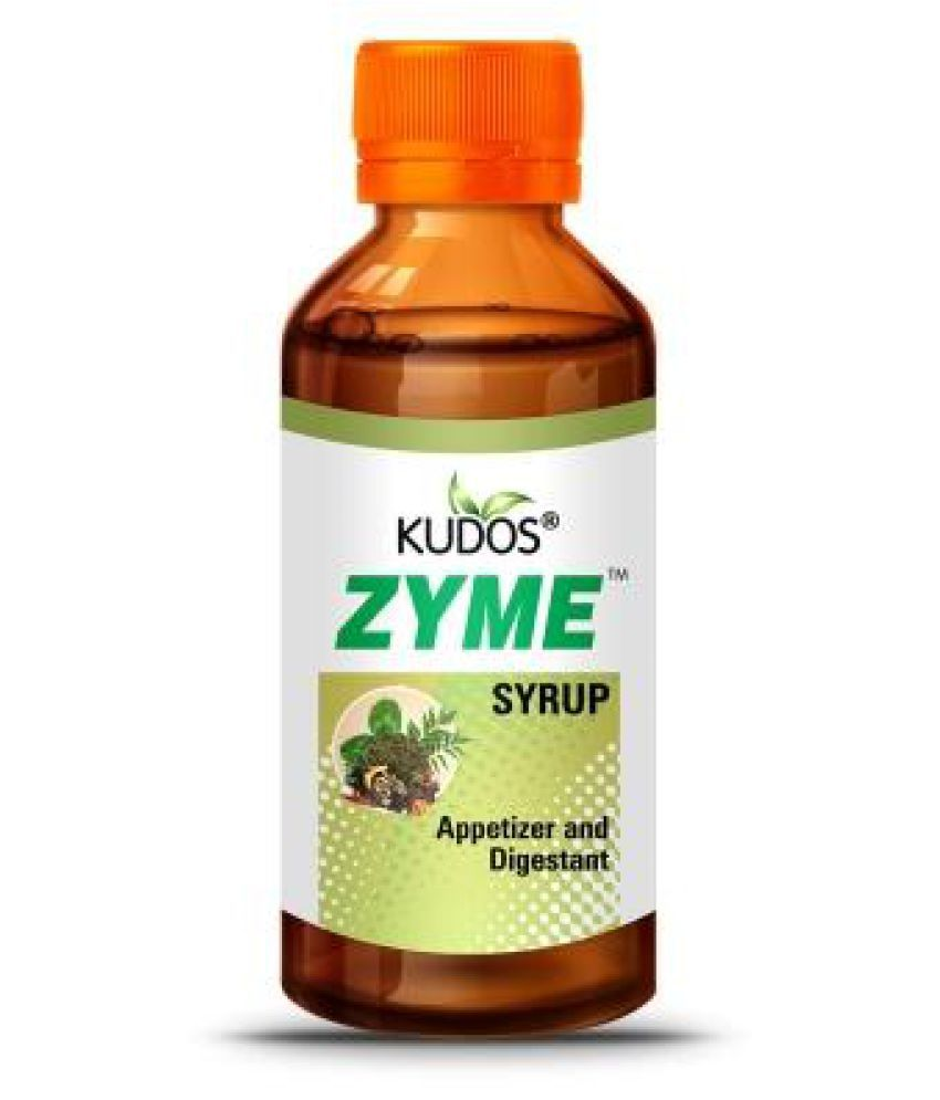 Kudos Ayurveda Zyme appetize and Digestive Liquid 200 ml