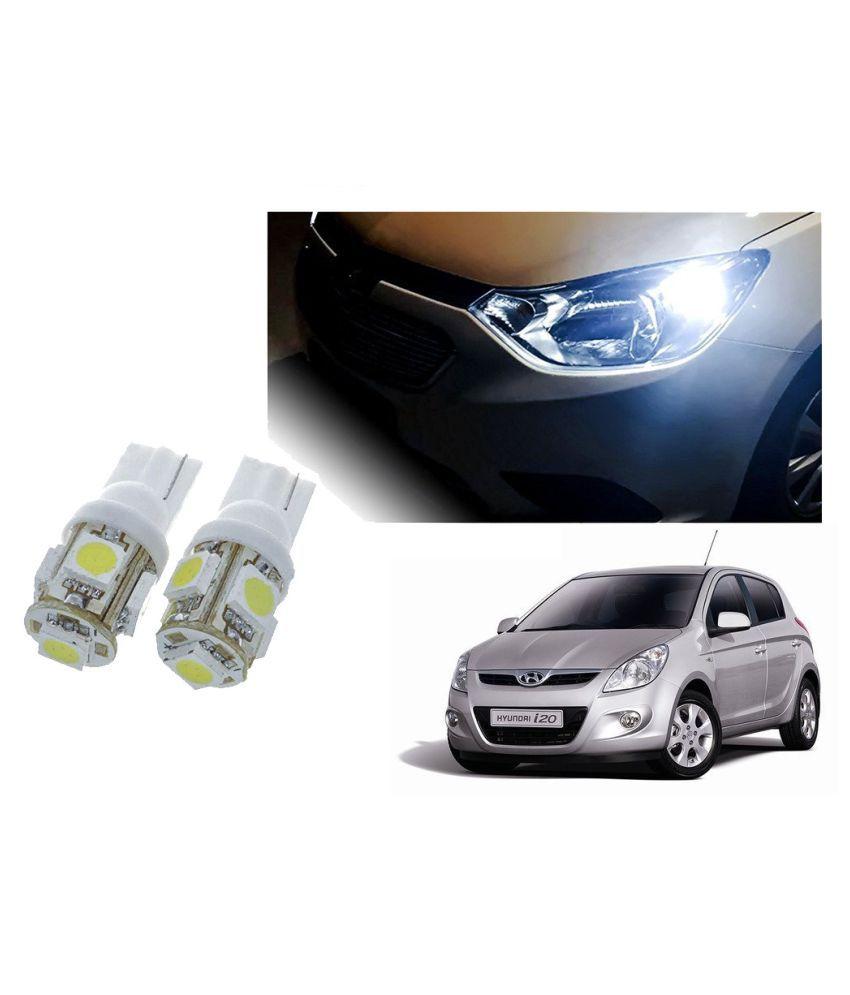 Auto Addict Car T10 5 SMD Headlight LED Bulb for Headlights,Parking Light,Number Plate Light,Indicator Light For Hyundai i20