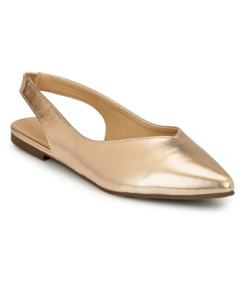 Truffle Collection Gold Flats