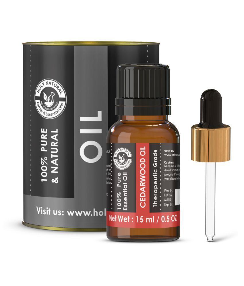 Holy Natural Cedarwood Essential Oil 15 mL