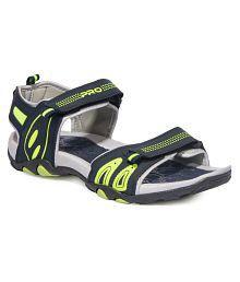 Khadim's Navy Synthetic Floater Sandals