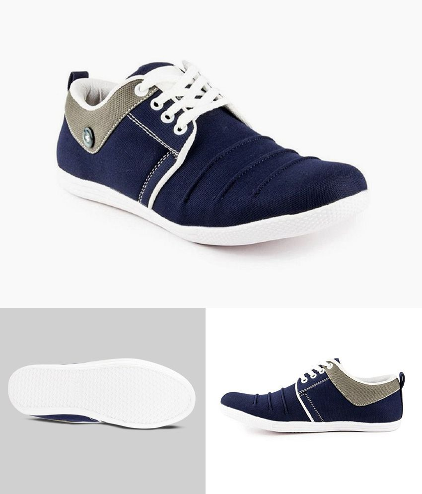 ROCCO STYLISH CLASSY BLUE SNEAKERS