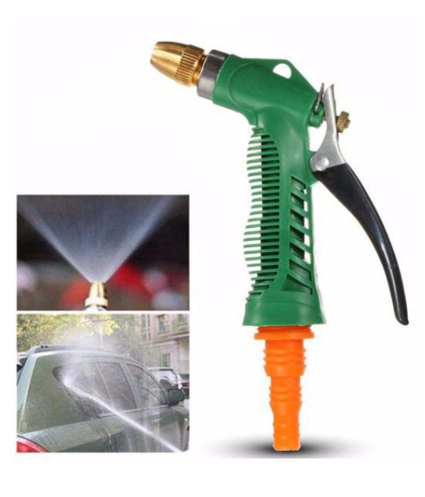 Shoppingtadka Plastic Trigger and Brass Nozzle Spray Gun for Car Bike Garden & Parking Pet Wash / Washing