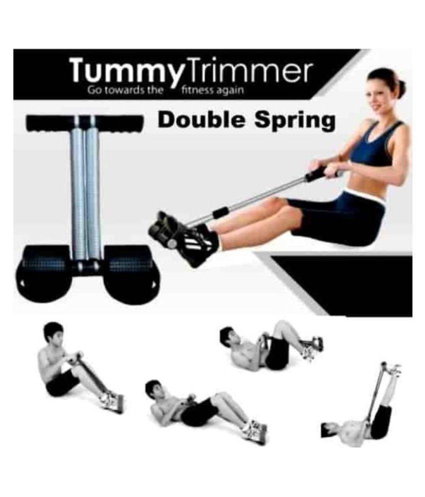 arnav Unisex Double Spring Tummy Trimmer Abs Exerciser Waist Trimmer Total Body Workout for Men and Women