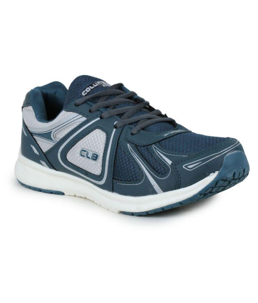 Columbus LD-0023-Bgreen Blue Running Shoes