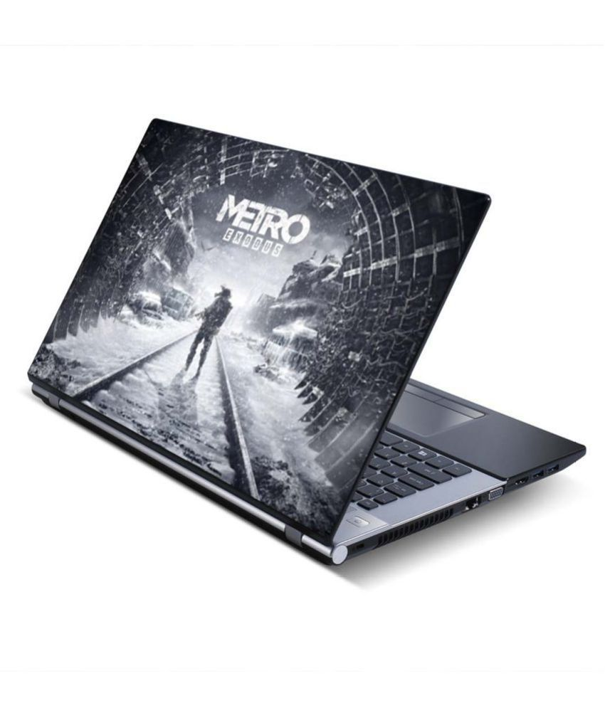 100yellow Metro Exodus Gaming Laptop Skin Decal 15 6 Inch for Dell HP Acer  Asus Lenovo