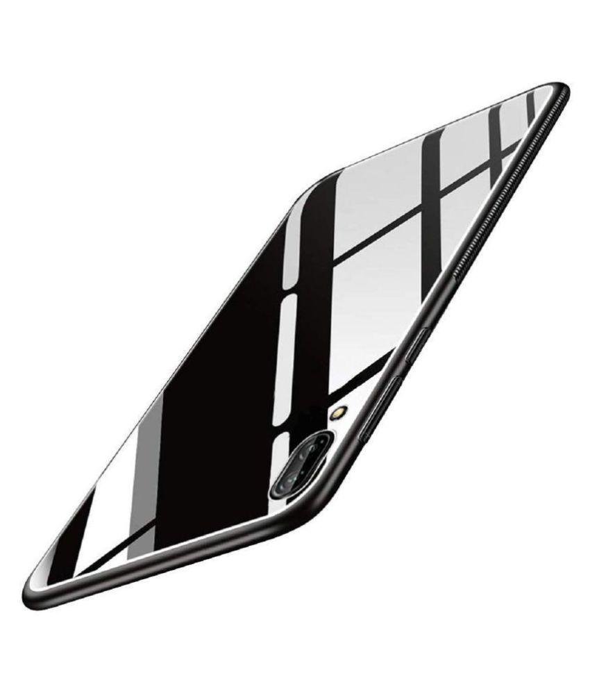 Samsung Galaxy M10 Glass Cover Genstyl - Black