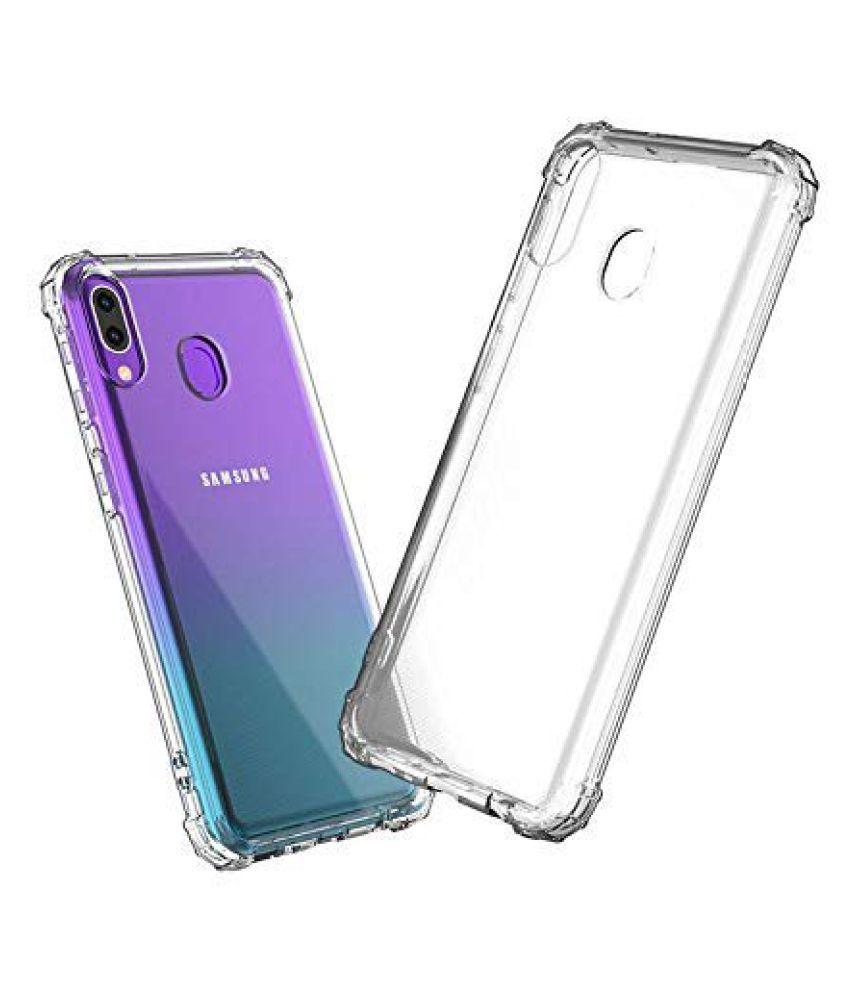 Samsung Galaxy A20 Plain Cases Spectacular Ace - Transparent