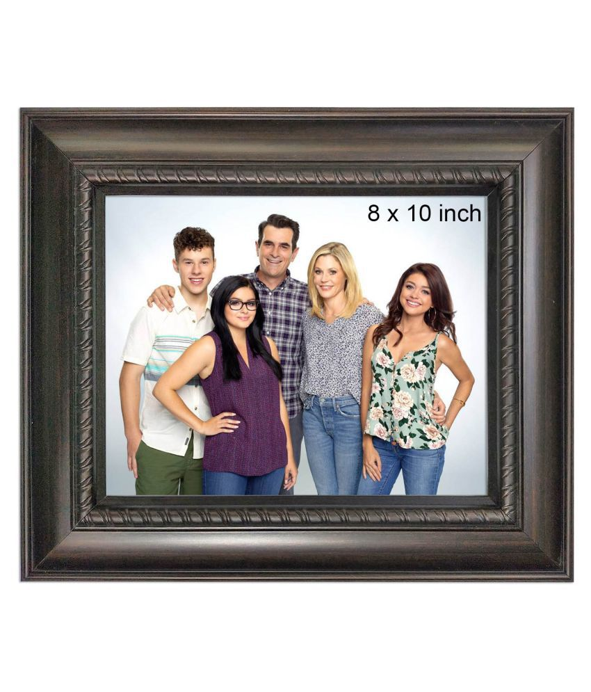 Allure Acrylic Brown Single Photo Frame - Pack of 1