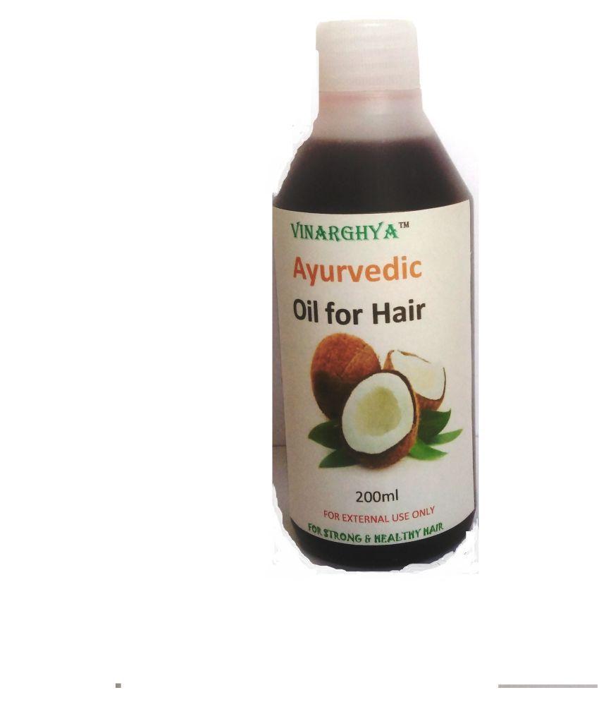 VINARGHYA PHARMACEUTICALS Ayurvedic Oil For Hair Oil 200 ml Pack Of 1