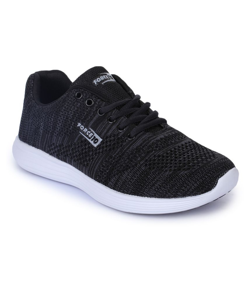 FORCE 10 By Liberty Black Running Shoes