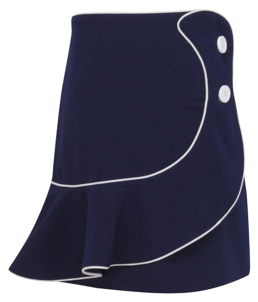 Cutecumber Girls Partywear Georgette Skirt