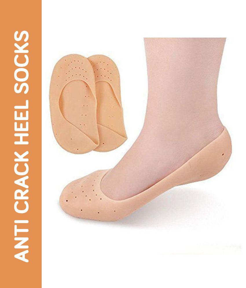 DONDA Moisturizing Silicone Socks for Cracked Heel Free Size