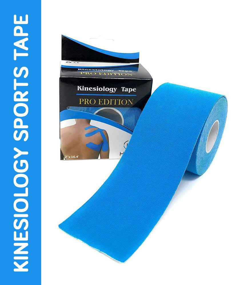 SGM Kinesiology Sports Tape Original Cotton Elastic, Breathable, Latex Free, Pro & Olympic Choice Pack of 1