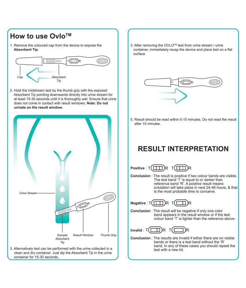 OVULATION/FERTILITY TESTS Ovulation test