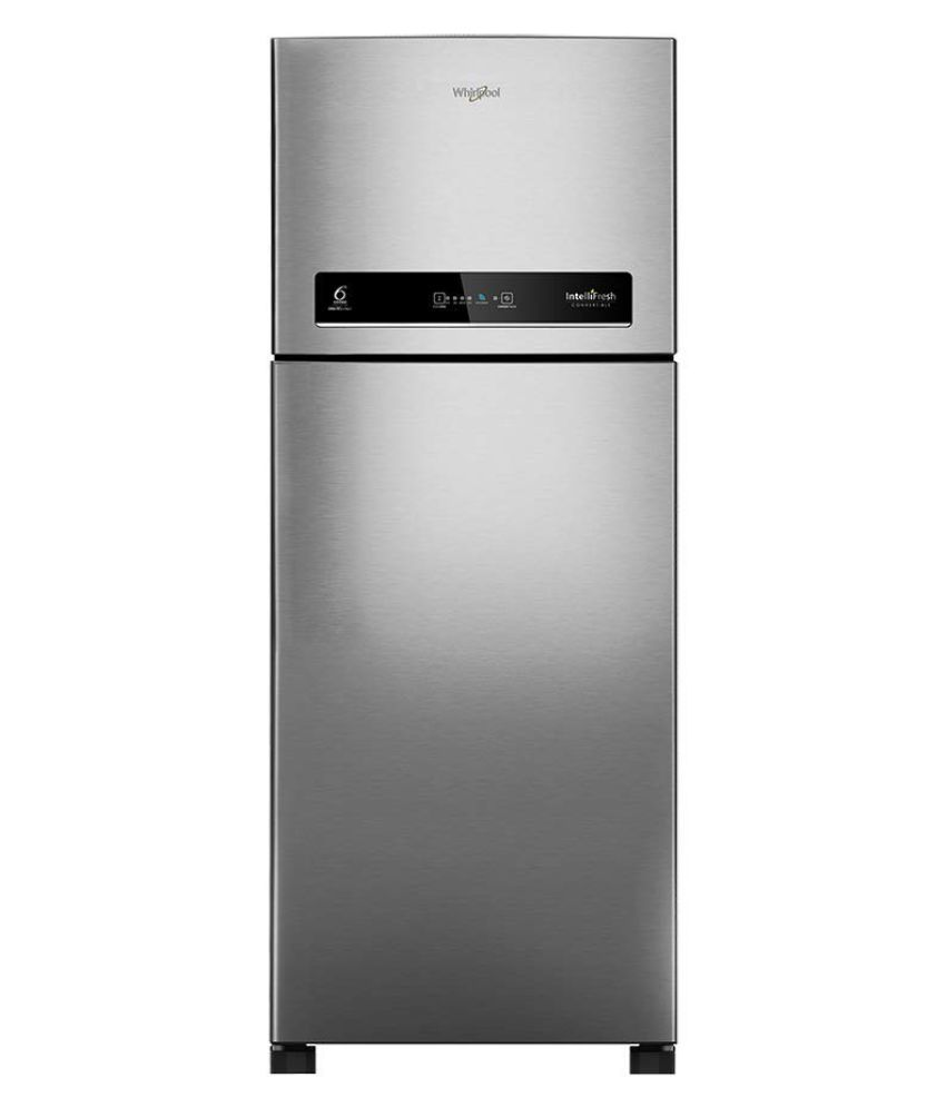 Whirlpool 292 Ltr 4 Star IF INV CNV 305ELT 4S Double Door Refrigerator   Steel