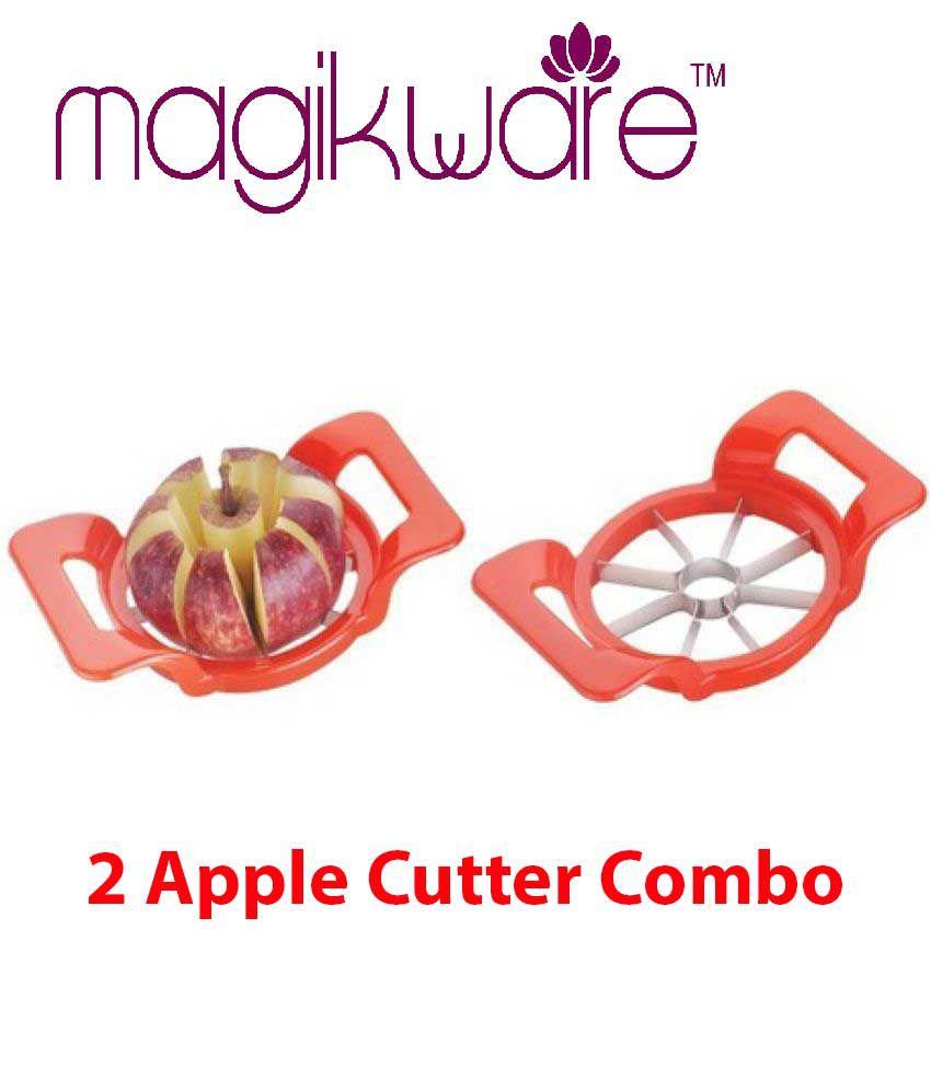 Magikware Apple Cutter / Slicer, 8 Slicer. Set of 2