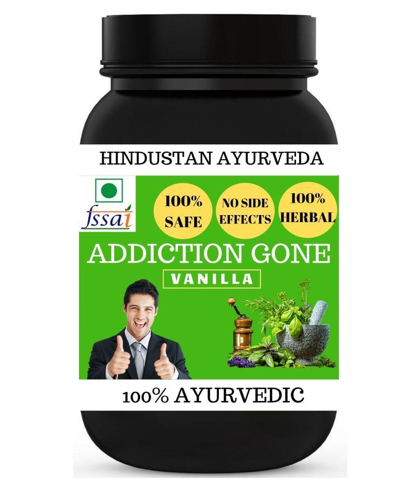 Hindustan Ayurveda Addiction Gone Vanilla Flavor Powder 100 gm Pack Of 1