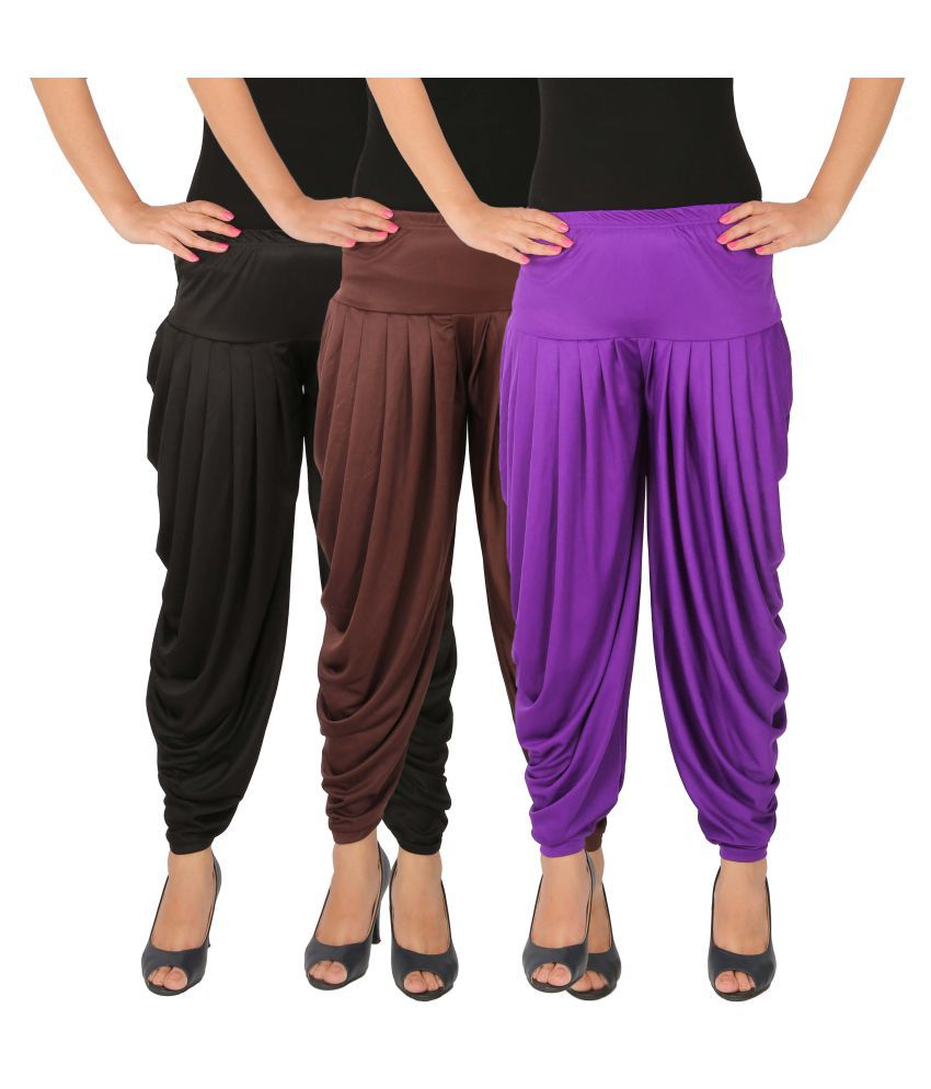 Leap of Faith Lycra Pack of 3 Dhoti