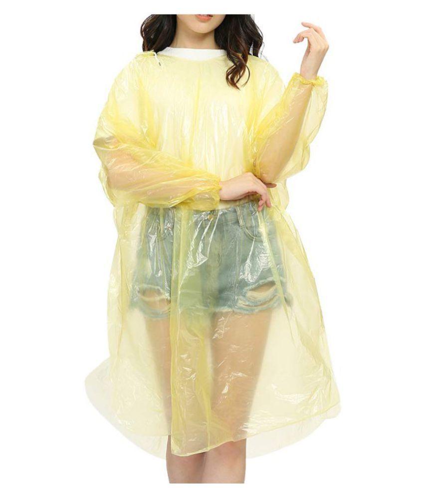 BTS Waterproof Long Raincoat - Multi Color