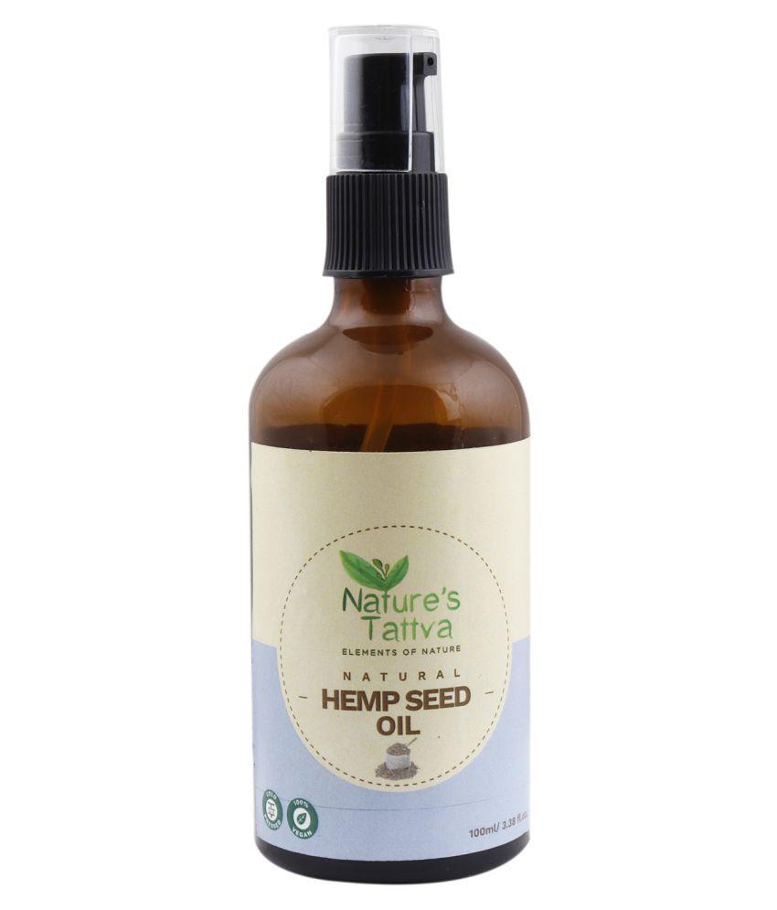 Nature's Tattva Cold Pressed Hemp Seed Oil