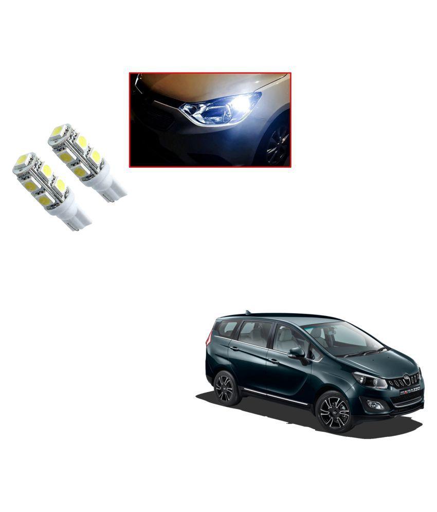 Auto Addict Car T10 9 SMD Headlight LED Bulb for Headlights,Parking Light,Number Plate Light,Indicator Light For Mahindra Marazzo