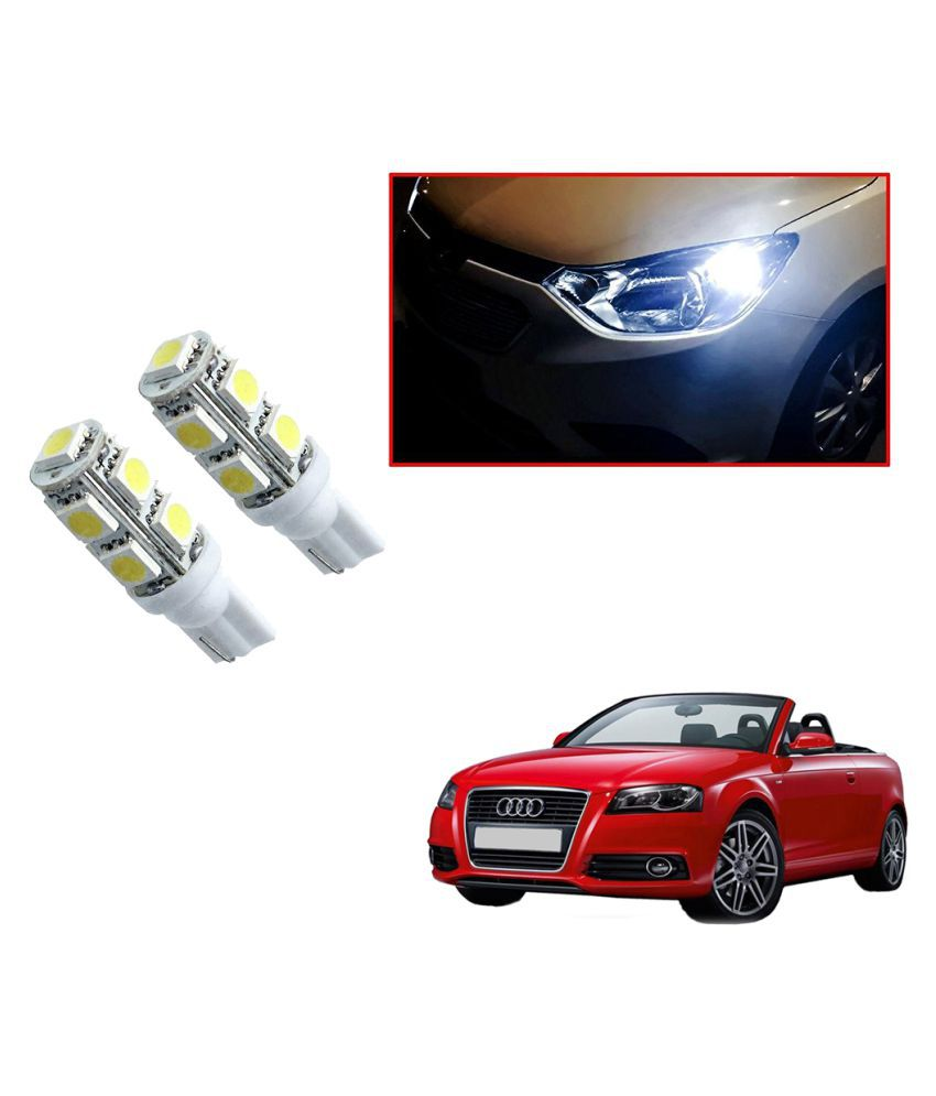 Auto Addict Car T10 9 SMD Headlight LED Bulb for Headlights,Parking Light,Number Plate Light,Indicator Light For Audi A3 Cabriolet