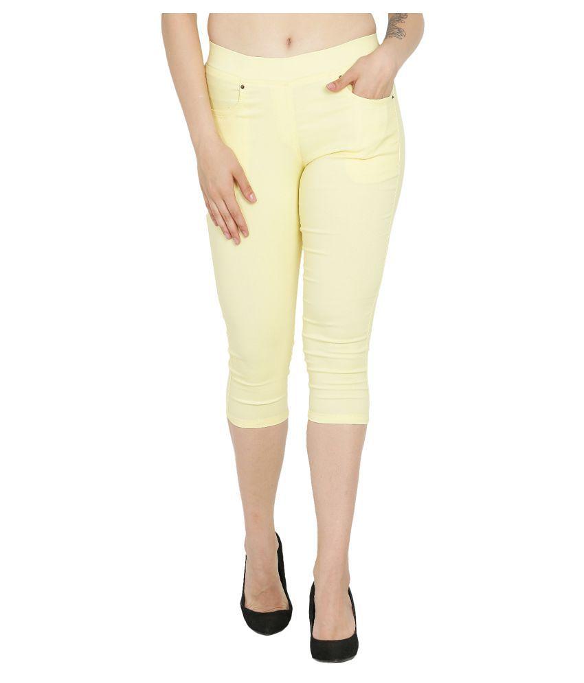 Westwood Cotton Lycra Capris