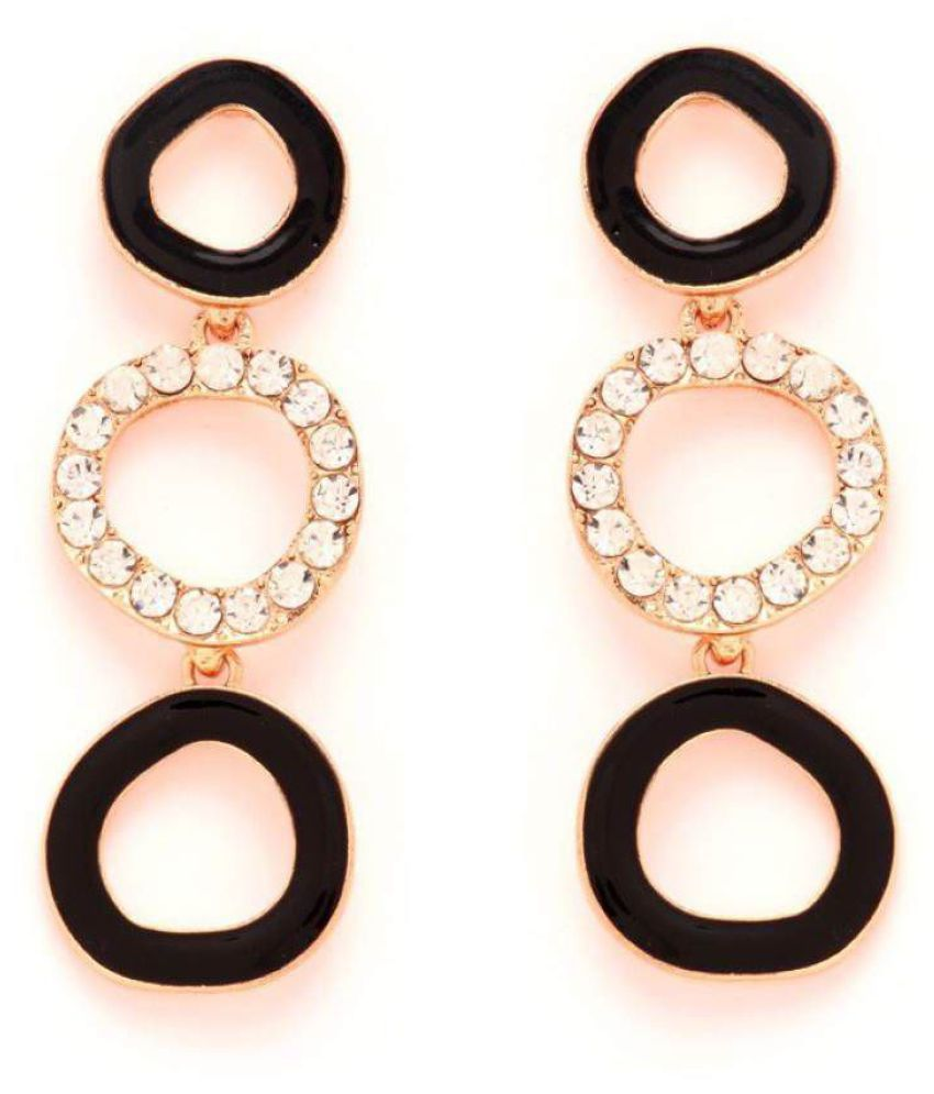 GoldNera Passion Alloy Dangle Earrings