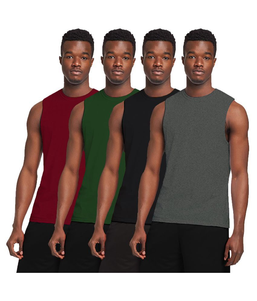 The Blazze 0006 Men's Sleeveless T-Shirt Gym Tank Gym Tank Stringer Tank Tops Gym Vest Muscle Tee Gym Vest Vests Men Vest for Men T-Shirt for Men's\n