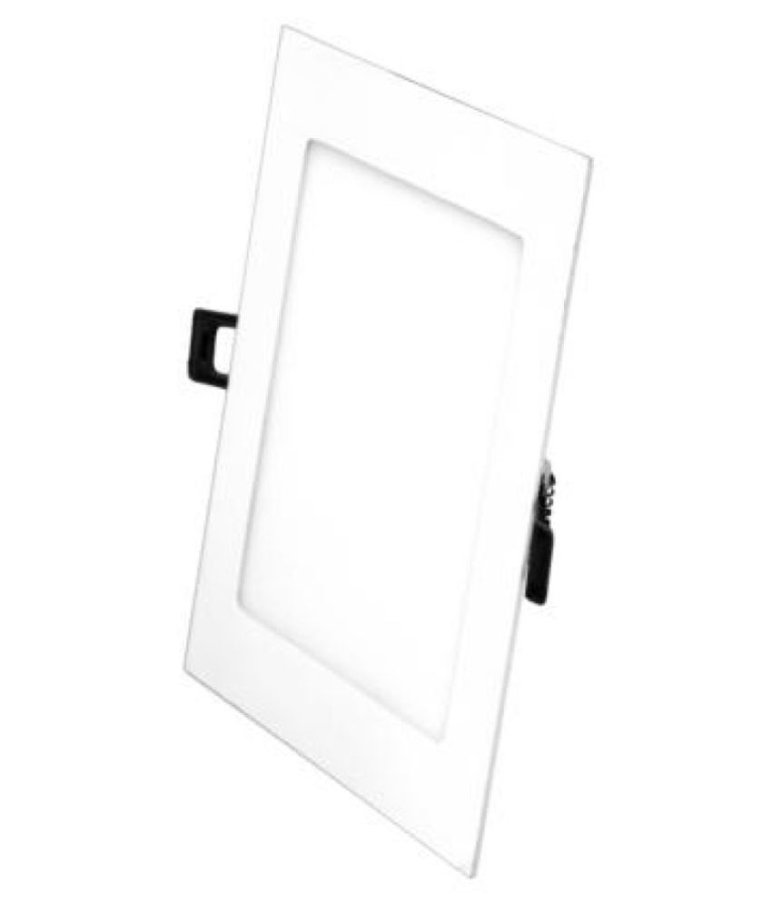 WHITES 3W Square Ceiling Light 8 cms.   Pack of 1