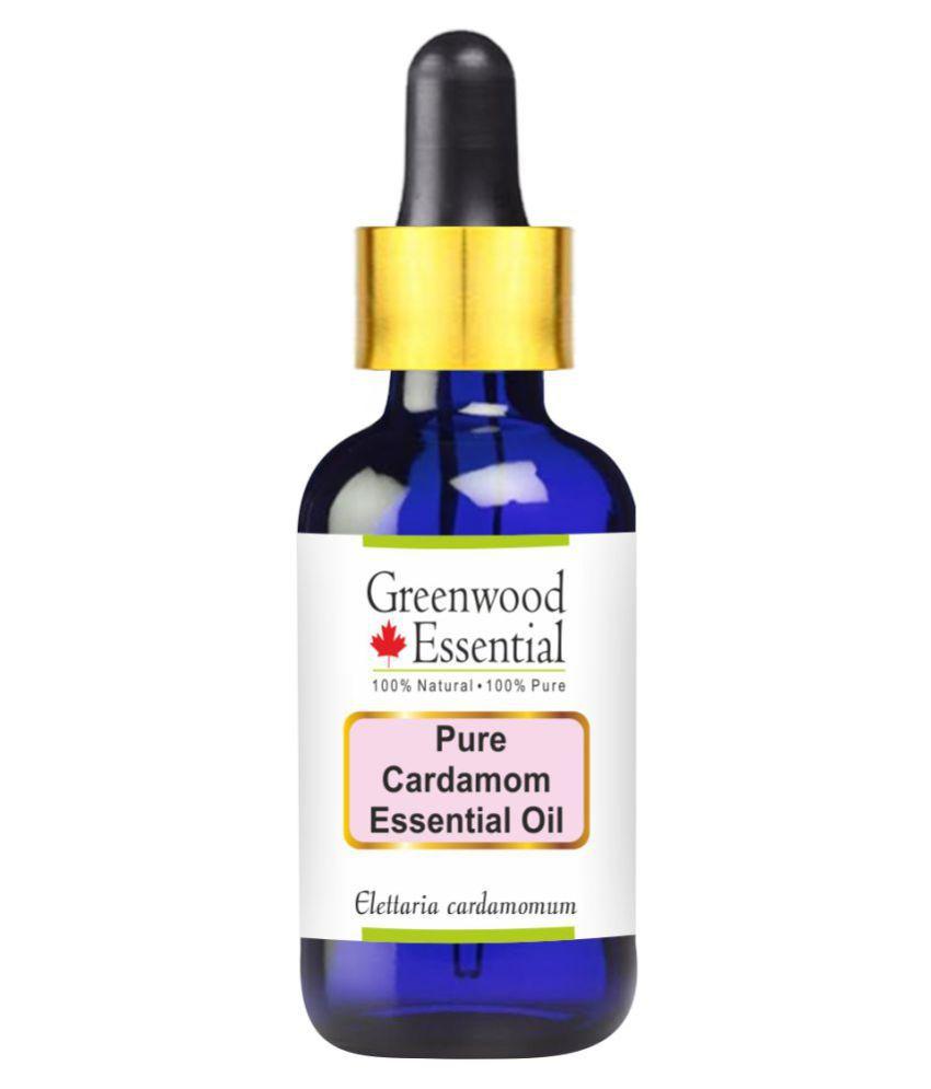 Greenwood Essential Pure Cardamom  Essential Oil 10 mL