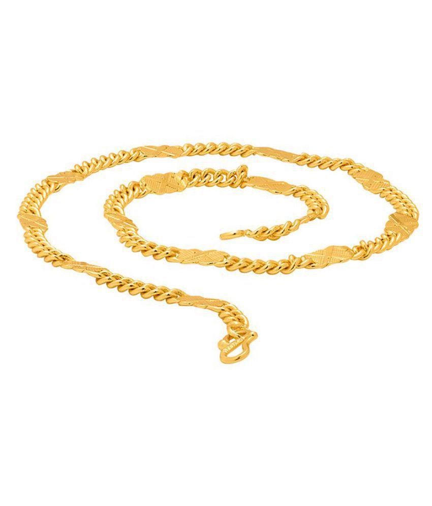 shankhraj mall Gold Brass & Copper etc Chains