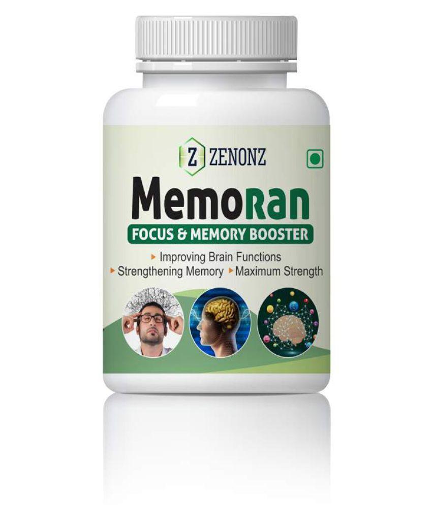 zenonz Memoran Memory Power & Focus memory Capsule 500 mg Pack Of 1