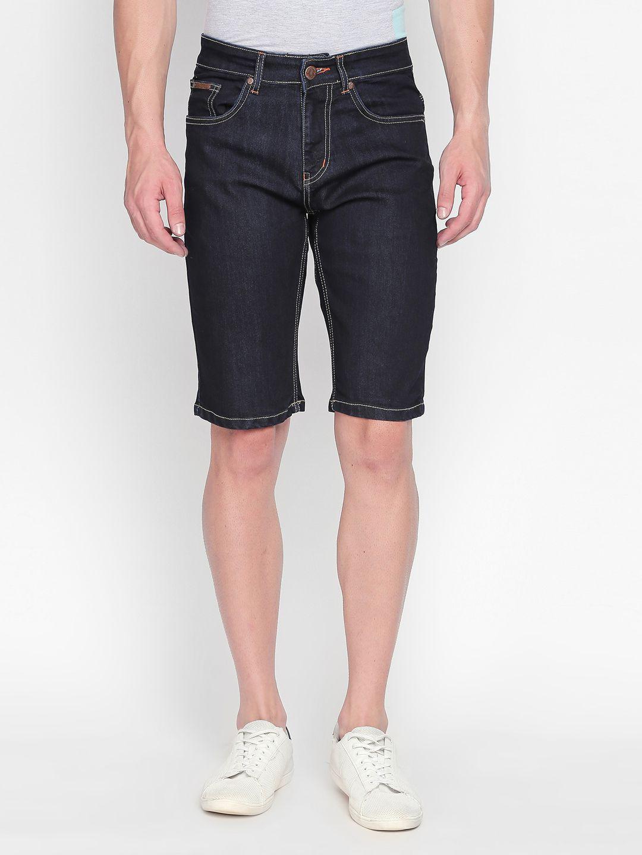 BOLTS and BARRELS Blue Shorts