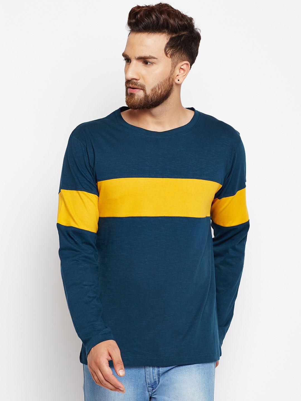 Bombay Clothing Company Multi Cotton Blend Polo T-Shirt
