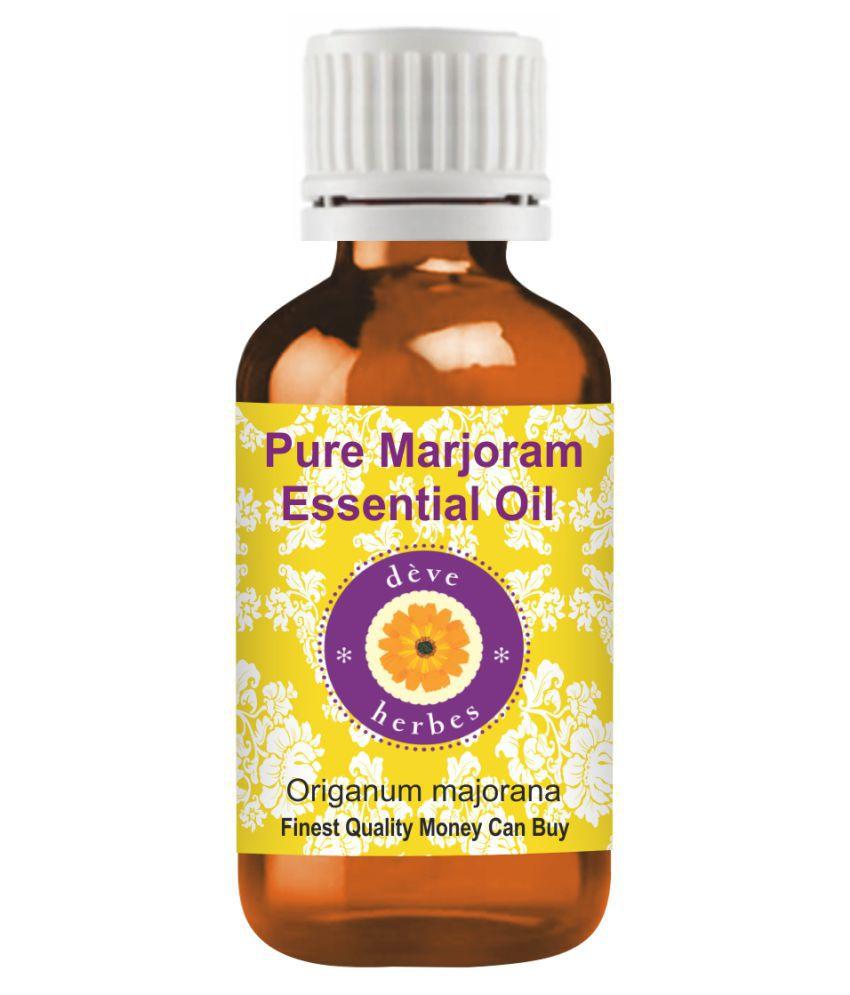 Deve Herbes Pure Marjoram   Essential Oil 30 mL