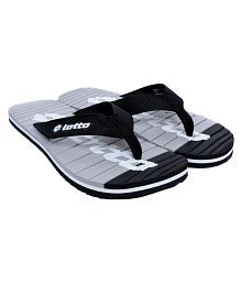 Lotto Black Daily Slippers