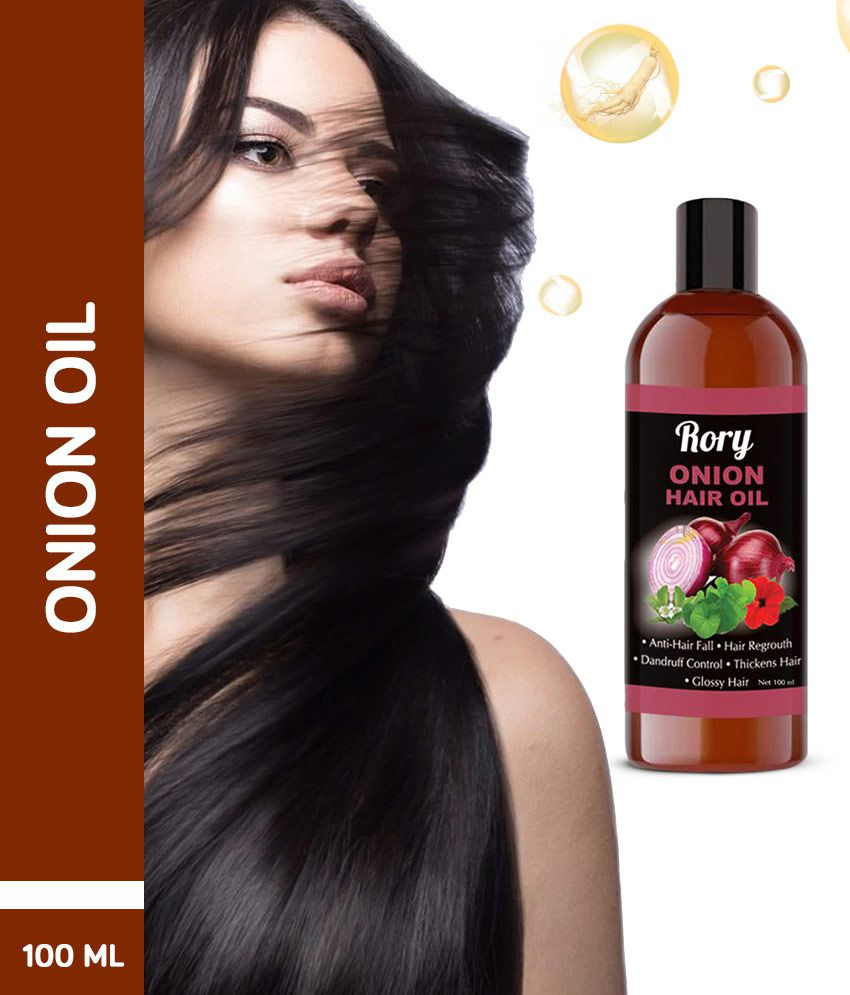 Rory 100% Organic Onion Hair Regrowth Oil For Hair Therapy 100 ML
