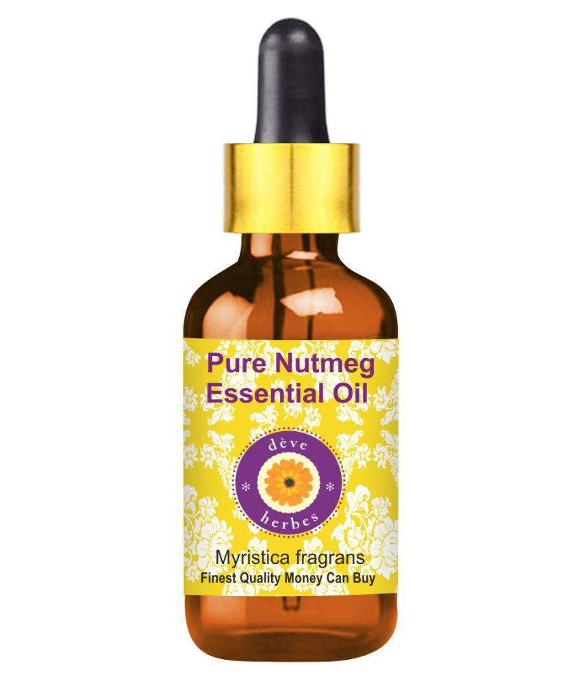 Deve Herbes Pure Nutmeg Essential Oil 50 mL
