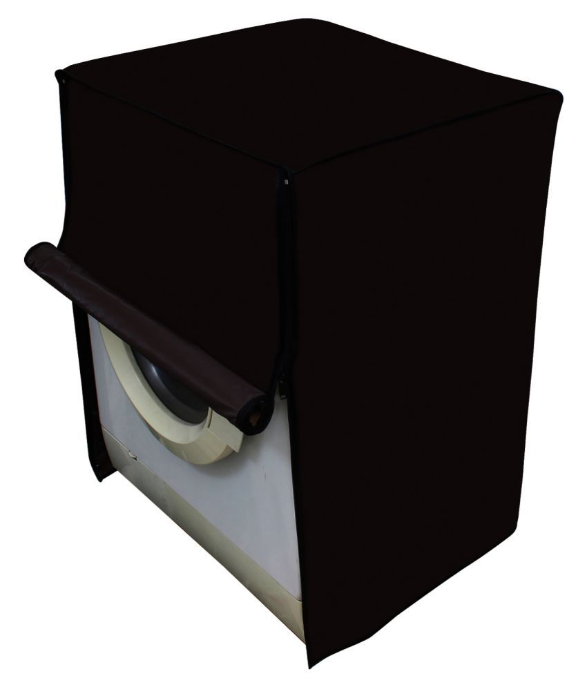 Dream Care Single PVC Brown Washing Machine Cover for IFB 7 kg Fully Automatic