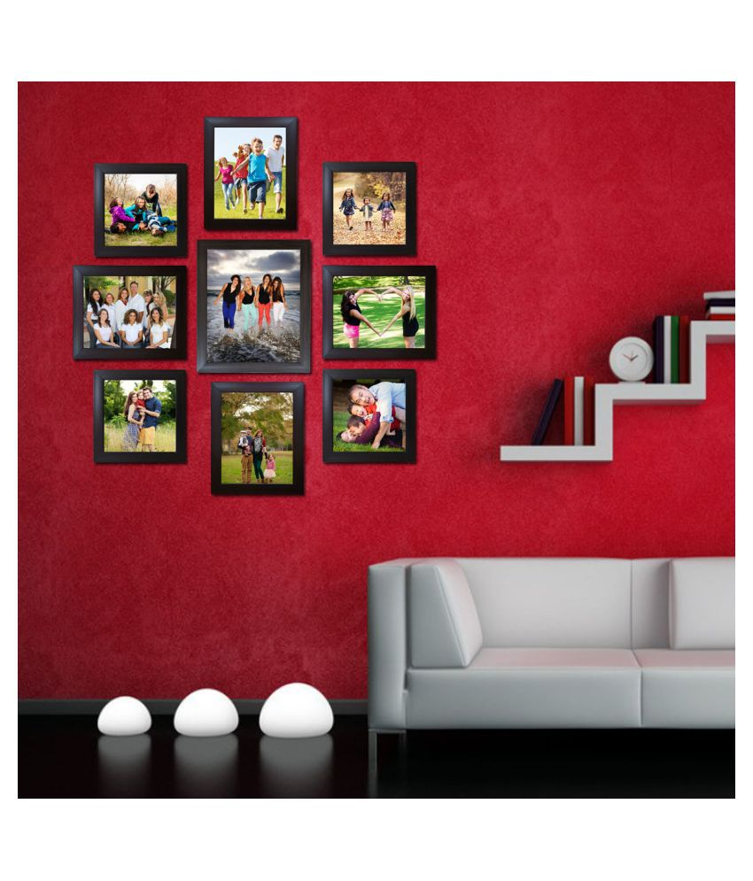 Decora Acrylic Brown Photo Frame Sets - Pack of 9