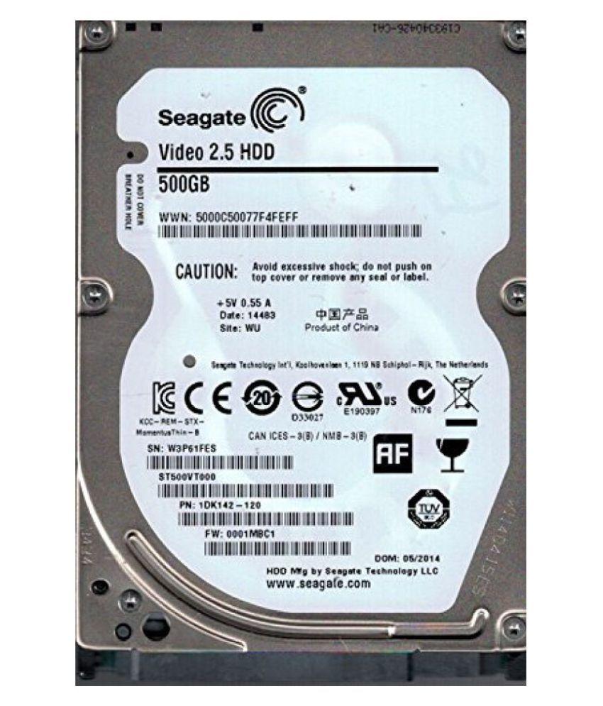 Seagate  500 GB INTERNAL Laptop Hardisk 500 GB Internal Hard Drive Internal Hard drive