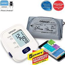 Omron HEM 7120 Fully Automatic Digital Blood Pressure Monitor With Intellisense Technology For Most Accurate Measurement with 5 yr warranty