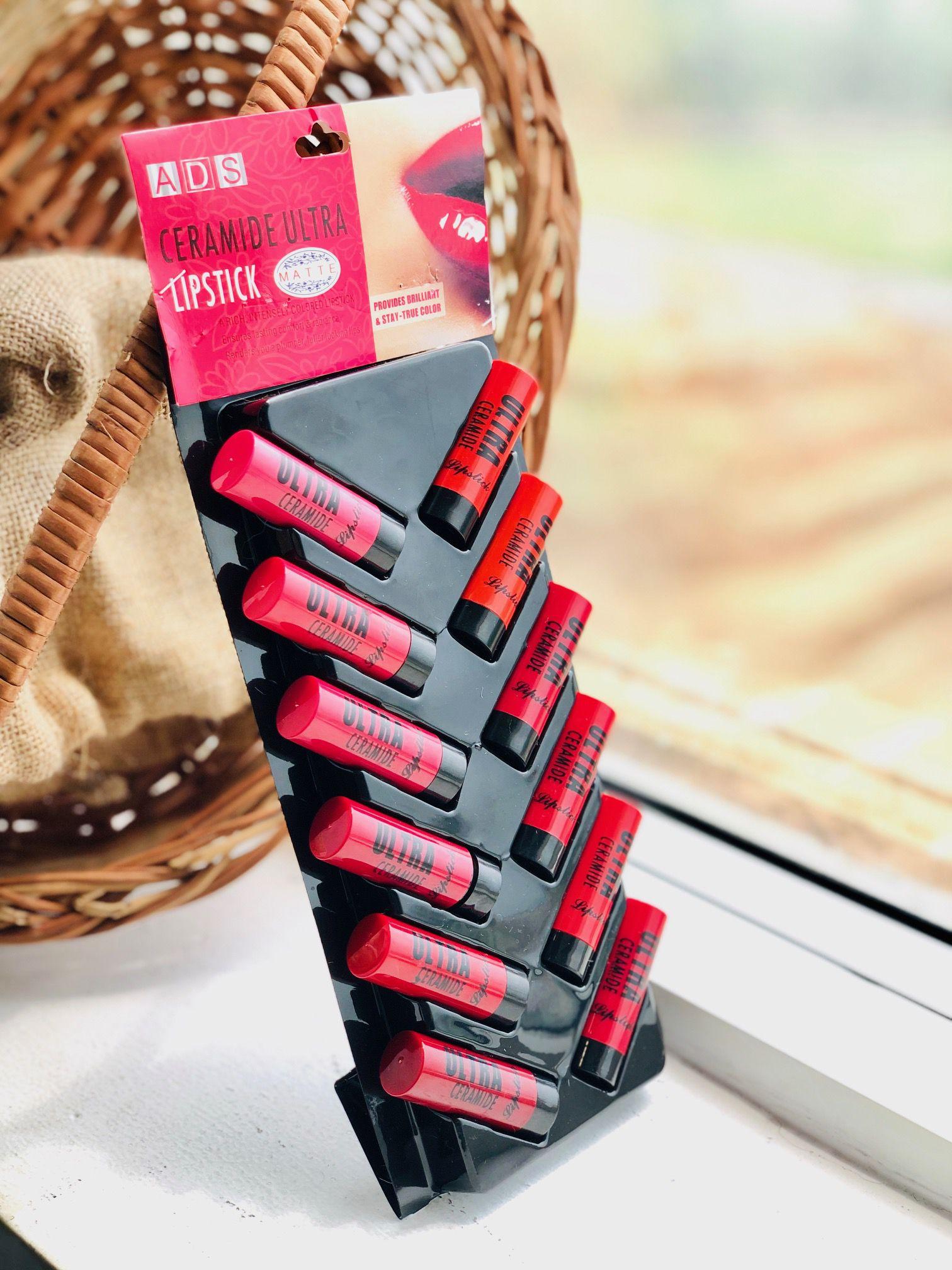 ADS Ultra Ceramide Matte Lipstick Multicolor