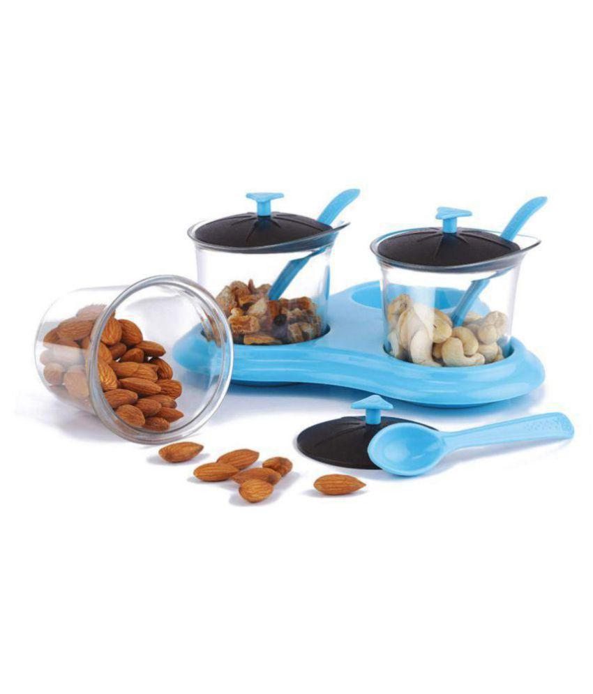 skylake AS Aachar PET Pickle Container Set of 3 400 mL