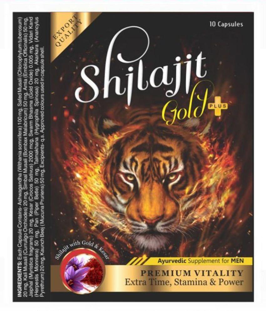 Ayurveda Cure Shilajit Gold Plus Capsule (10x3=30 Cap) Capsule 30 no.s